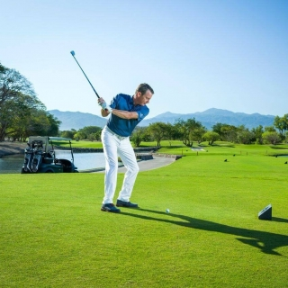 <h5>Jeff Tymkow at Vidata Golf</h5><p>It's not everyday that you can play a round in paradise, but now you can bring a piece of it to your everyday life with the NEW Vidanta Golf Custom Apparel Store! We now offer a full line of high-quality apparel for the whole family available for purchase online. 																																		</p>