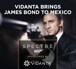 <h5>Grupo Vidanta Invests Millions in Bond Film Spectre</h5><p>007™ project is latest Vidanta initiative to drive global interest in region  MEXICO CITY (March 20, 2015) – Mexico-based Grupo Vidanta, one of the largest and most-decorated developers of luxury resorts and tourism infrastructure in Latin America, announced at a recent press conference their contribution to the filming of Spectre, the next installment of the internationally popular James Bond franchise. The film's opening scene will be set in Mexico. In conjunction with Interjet Airlines and the Mexico Tourism Board, Grupo Vidanta, which was founded by Mexican resort mogul Daniel Chávez Morán, works to attract premier tourism projects such as the Bond film to the Mexican economy, and noted that the film's production will create hundreds of new jobs locally. 																	</p>